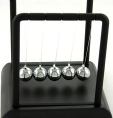 Newtons Cradle Royalty Free Stock Image