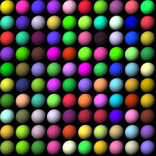 Free Multicolored Balls Royalty Free Stock Images - 2764749