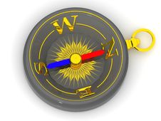 Free Compasses. 3d Stock Photography - 2765982