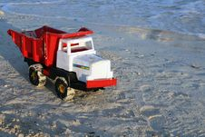 Free Beach Toys - Colorful Truck Royalty Free Stock Image - 2766176