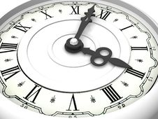 Free Clock. Three O Clock Stock Photo - 2766220