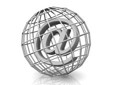 Free Symbol For Internet Royalty Free Stock Photography - 2766227