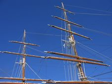 Free Sailing Ship In Port Stock Image - 2766281