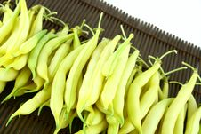 Free String Yellow Beans Royalty Free Stock Photo - 2766285