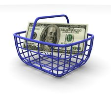 Free Consumer S Basket Royalty Free Stock Image - 2766286