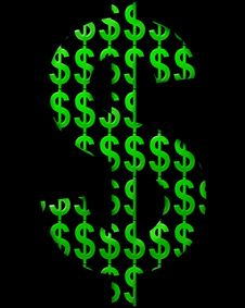 Free Dollar Sign 101 Stock Image - 2766351