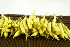 Free String Yellow Beans Stock Photography - 2766422