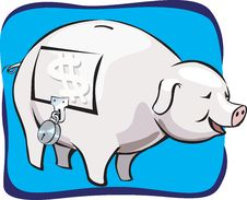 Free Piggy Bank Royalty Free Stock Image - 2766596