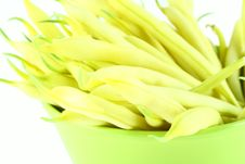 String Yellow Beans Royalty Free Stock Image