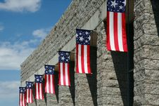 Free Patriotic Display Royalty Free Stock Photography - 2769377