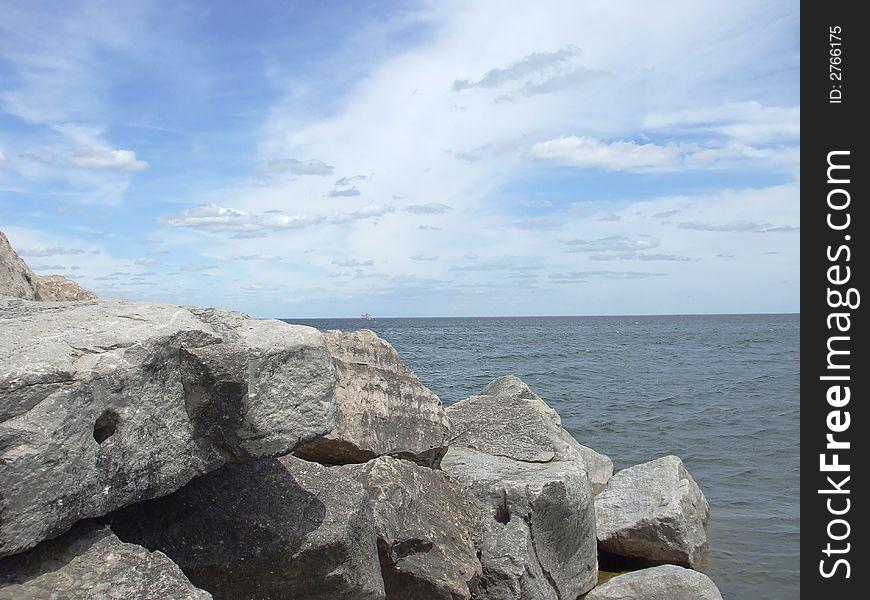 Huge Rockson the Coast