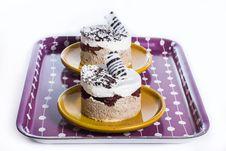 Free Luxury Dessert Dished Up Stock Photo - 27603480