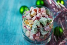 Free Christmas Turkish Delight Stock Images - 27603704
