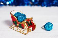 Free Christmas Sleigh Royalty Free Stock Photo - 27603905