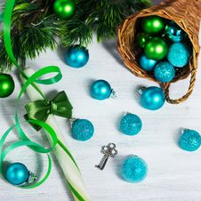 Free Christmas Decoration With Lollipop Stock Image - 27604061