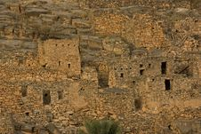 Free Ancient Village Of Misfat Al Abriyyin Royalty Free Stock Photo - 27604135