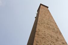 Free Isolate Large Brick Chimney. Royalty Free Stock Photos - 27605108