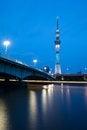 Free Tokyo Sky Tree Royalty Free Stock Photography - 27617457