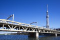 Free Tokyo Sky Tree Royalty Free Stock Photography - 27617527