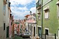 Free Old Lisbon Street Royalty Free Stock Photo - 27617745