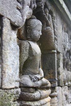 Free Stone Carved Bodhisatva Stock Photos - 27613833