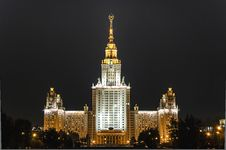 Free Moscow State University Stock Image - 27615311