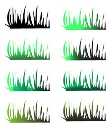 Free Grass Silhouettes Royalty Free Stock Photography - 27617197
