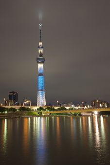 Free Tokyo Sky Tree Royalty Free Stock Photo - 27617485