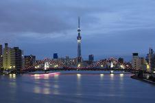 Free Tokyo Sky Tree Royalty Free Stock Photography - 27617507