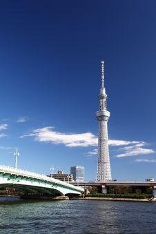 Free Tokyo Sky Tree Stock Photography - 27617532