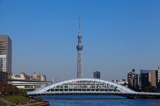 Free Tokyo Sky Tree Royalty Free Stock Photos - 27617618