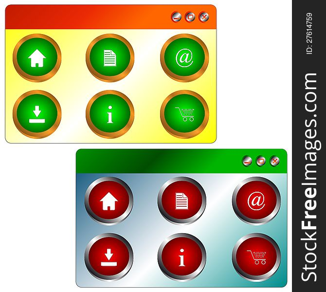 Site icons set