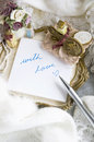 Free Writing With Love Royalty Free Stock Image - 27622696