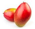 Free Mango Two Royalty Free Stock Image - 27625256