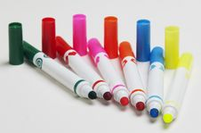 Free Felt-tip Pens Royalty Free Stock Images - 27621089