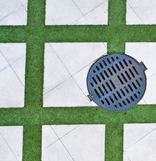 Free Drain Cover Stock Image - 27621461