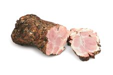 Smoked Pork Meat Royalty Free Stock Images