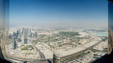 Free Dubai From The Top Royalty Free Stock Photography - 27621557
