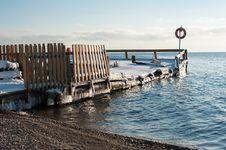 Free Old Pier On Lake Baikal Stock Image - 27621911