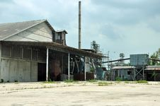 Free Abandoned Rural Rice Mill Stock Images - 27622144