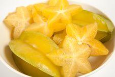 Star Fruit Or Carambola Stock Image