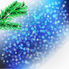Free Abstract  Snowflakes Background. Royalty Free Stock Photography - 27623717