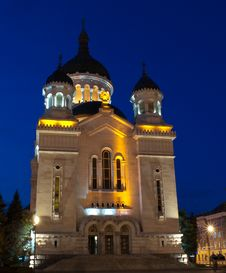 Free Orthodox Cathedral, Cluj-Napoca Stock Photography - 27624622