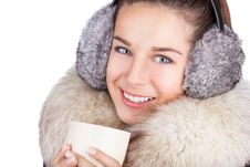Free Winter Girl Royalty Free Stock Images - 27624979