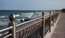 Free Fragment Of City Seafront On Summer Royalty Free Stock Image - 27625536