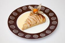 Apple Tart Royalty Free Stock Photography