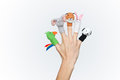 Free Colorful Finger Puppets Stock Photo - 27638420