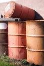 Free 55 Gallon Drums Royalty Free Stock Photos - 27639978