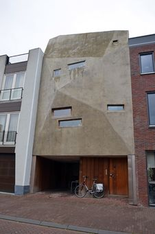 Free Strange Facade Of A Building In Amsterdam Royalty Free Stock Images - 27633049