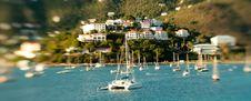 Yacht Club In Saint Thomas Stock Photos